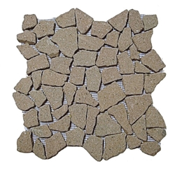 Natural Jupiter Flat Mosaic Tile shower pebble tile floor, bathroom pebble rock floor, river rock stone mosaic floor tile, natural interlocking pebble tile flooring, mosaic stone tile, kitchen backsplash, sliced, mini, polished, natural pebble, pool surround, patio landscape