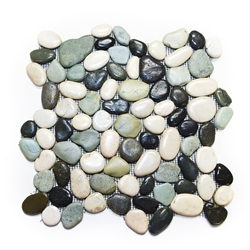 Glazed Maui Turtle Pebble Tile